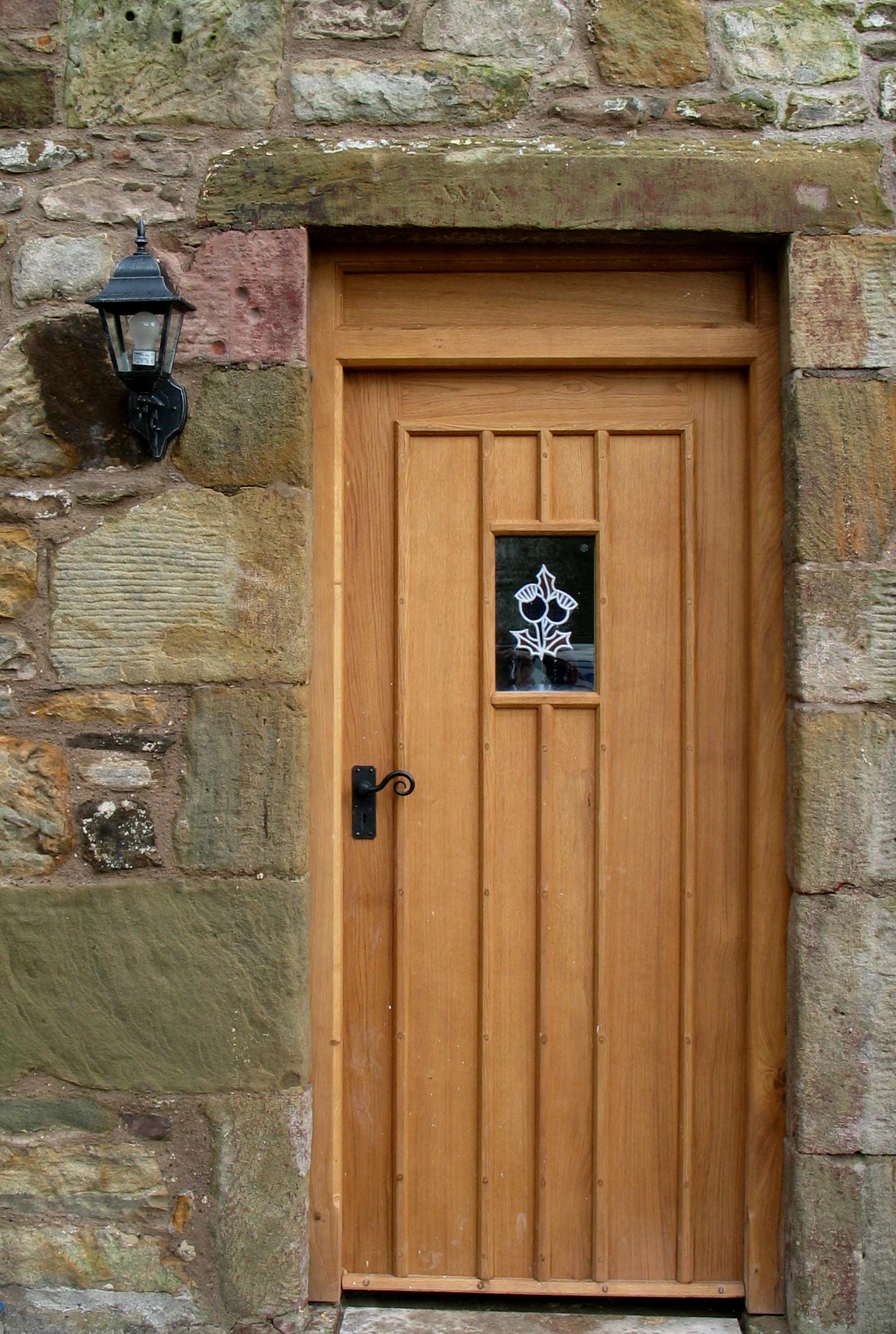 31 Oak Doors With Muntins & Light