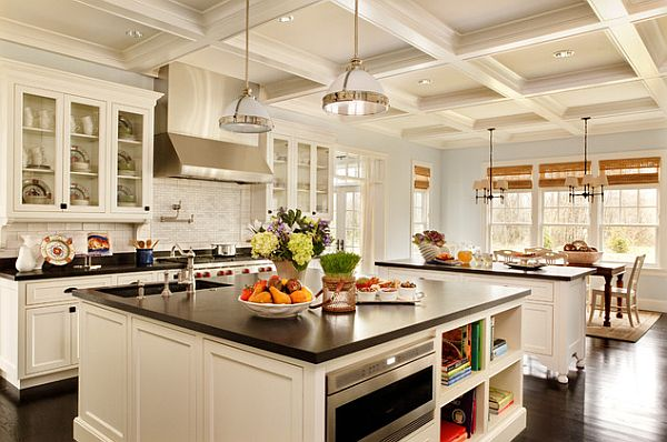 Large-kitchen-remodeling-with-white-furniture-and-dark-flooring