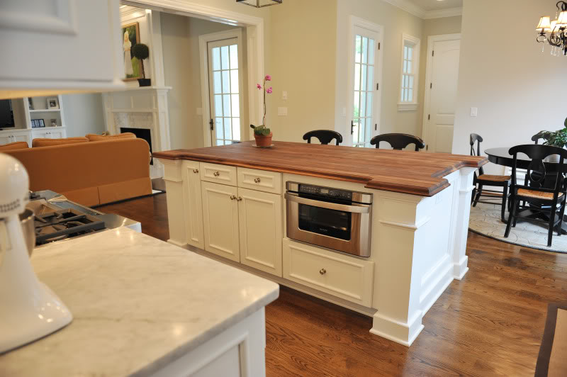 Charming ... Kitchen Island With Microwave Drawer Installing A Kitchen Island 41  Images Install Kitchen Island ...